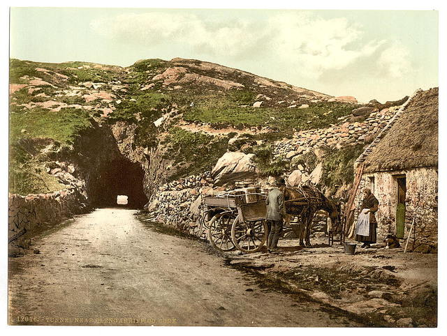 [Tunnel near Glengariff. County Cork, Ireland]