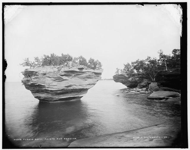Turnip Rock, Pointe aux Barques