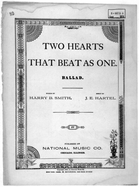 Two hearts that beat as one