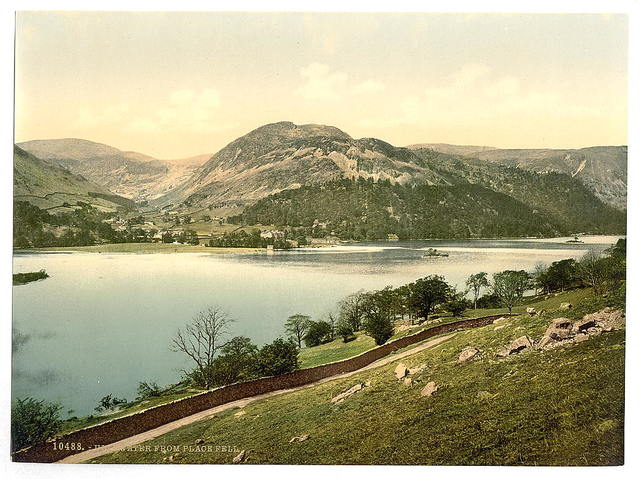 [Ullswater, from Place Fell, Lake District, England]
