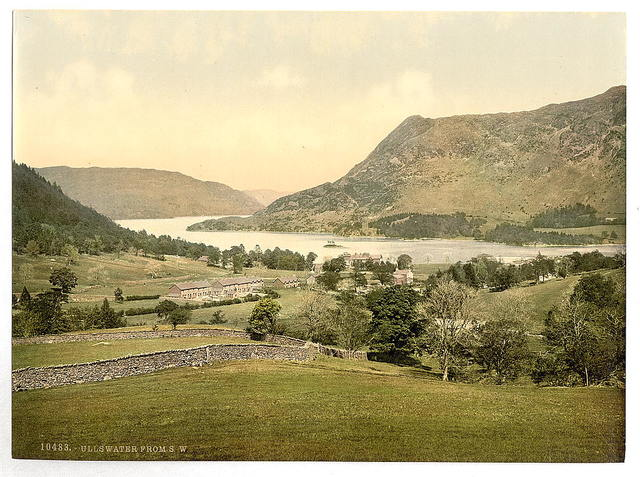 [Ullswater, from S. W., Lake District, England]
