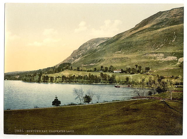 [Ullswater, Howtown bay, Lake District, England]
