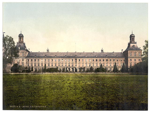 [University, Bonn, the Rhine, Germany]