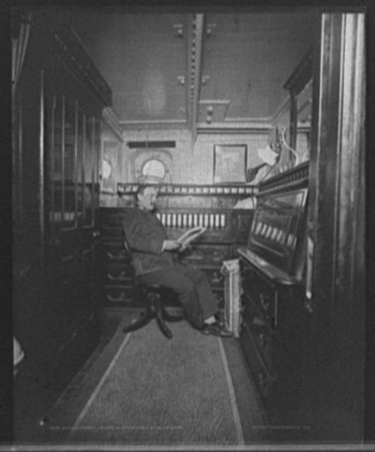 U.S.S. Cincinnati, Executive Officer Kelley in his room