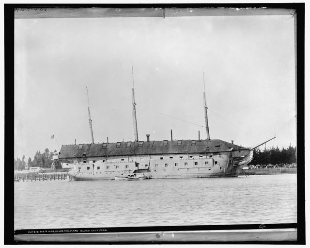 U.S.S. Independence, Mare Island, Navy Yard