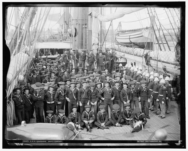 U.S.S. Kearsarge, ship's company