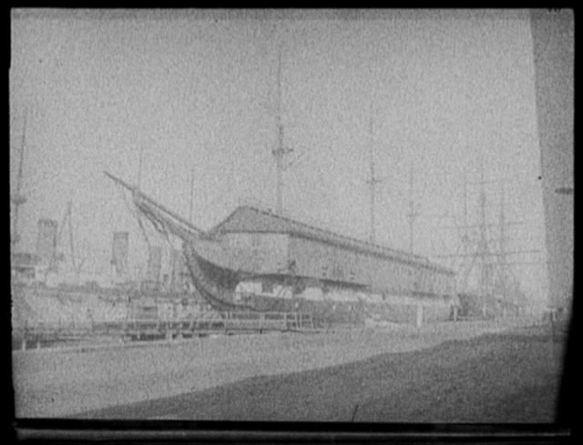 U.S.S. New Hampshire at Charlestown Navy Yard