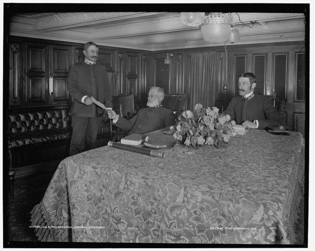 U.S.S. Philadelphia, Admiral Gherardi