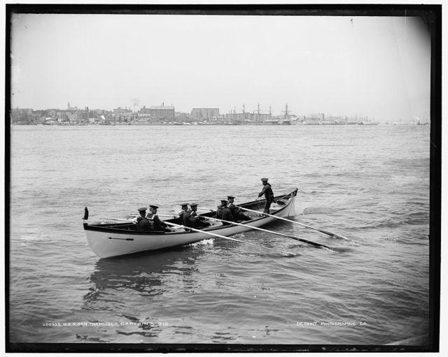U.S.S. San Francisco, captain's gig