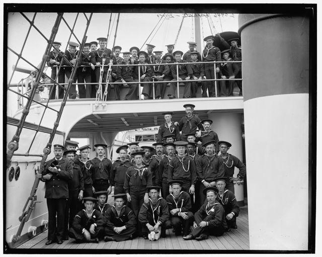 [U.S.S. San Francisco, ship's company]