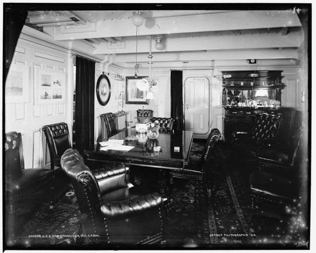 U.S.S. San Francisco, the cabin