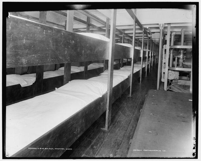 U.S.S. Solace, hospital ward