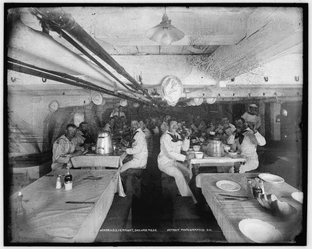 U.S.S. Vermont, sailors' mess