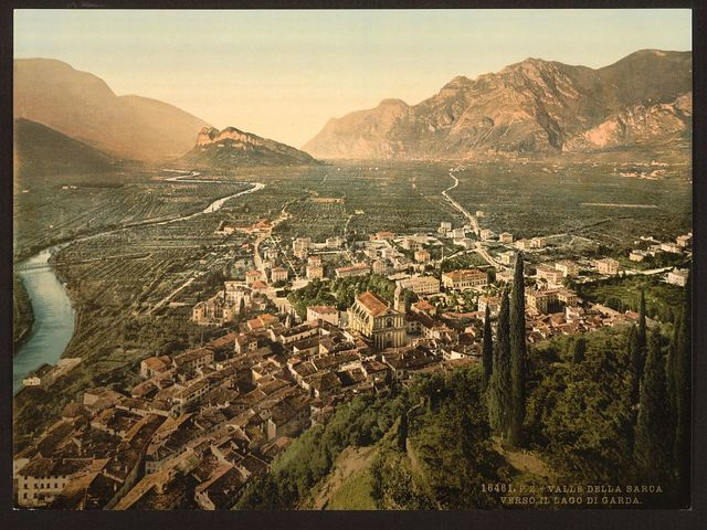 [Valley of Sarca, Arco, Lake Garda, Italy]