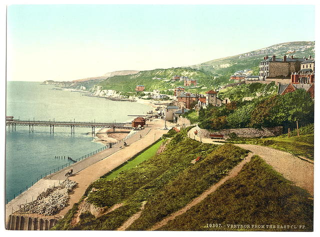 [Ventnor, from East Cliff, Isle of Wight, England]