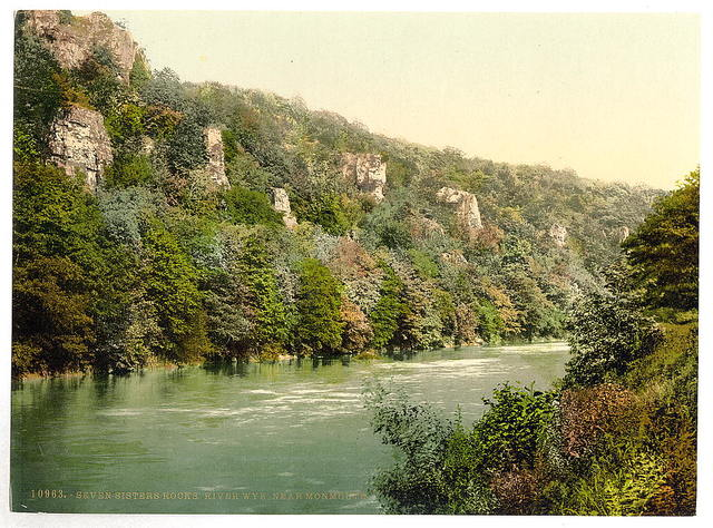 [Vicinity of Seven Sisters' Rocks, River Wye, Monmouth, Wales]