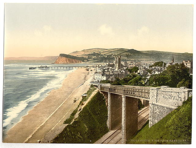 [View from E. Cliff, Teignmouth, England]