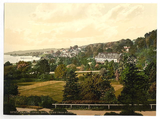 [View from hotel, Grange-over-Sands, England]