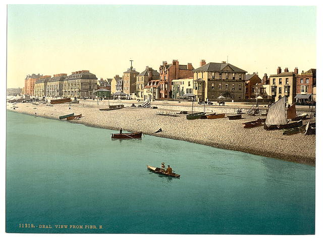 [View from pier E, Deal, England]