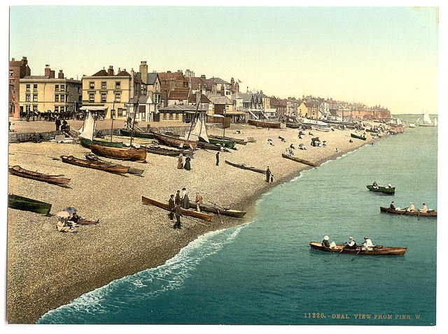 [View from pier W, Deal, England]