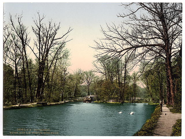 [View from the fifth lock, Bromberg, Germany [i.e., Bydgoszcz, Poland]]
