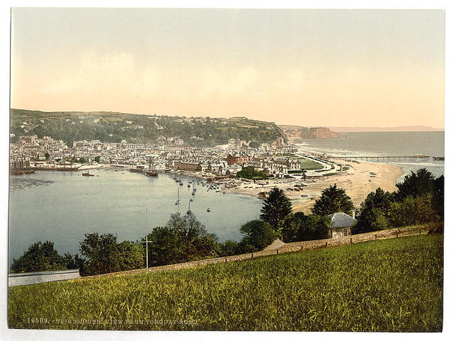 [View from Torquay Road, Teignmouth, England]