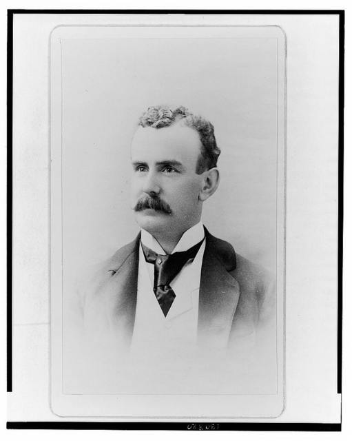 [Walter Scott Lenox, founder of Lenox Ceramic Art Company, half-length portrait, facing left]