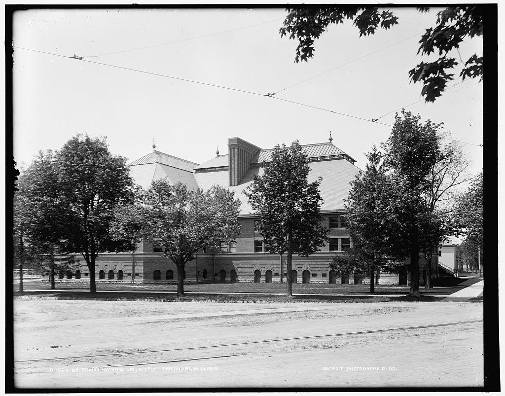 Waterman Gymnasium, U. of M., Ann Arbor, Michigan