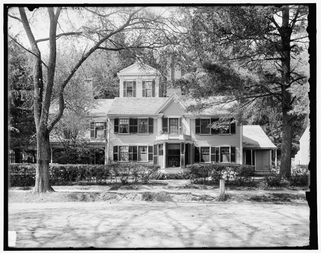 Wayside, the home of Nathaniel Hawthorne, Concord