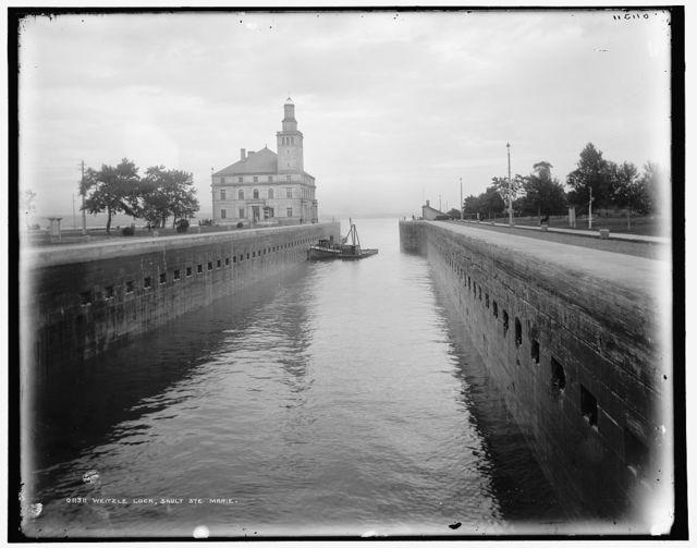 Weitzle [i.e. Weitzel] Lock, Sault Ste. Marie