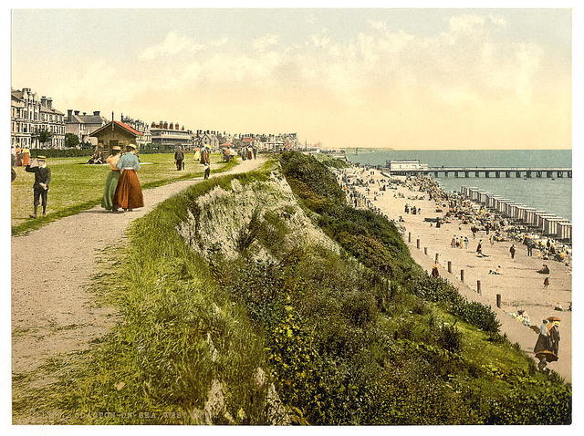 [West cliff, Clacton-on-Sea, England]