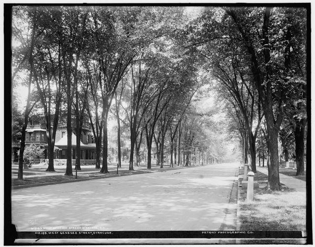 West Genesee Street, Syracuse University