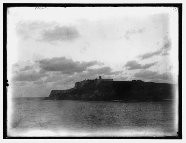 [West Indies, San Juan, San Felipe del Morro castle]