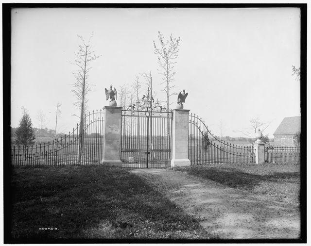 [Westover, Virginia, north gate]