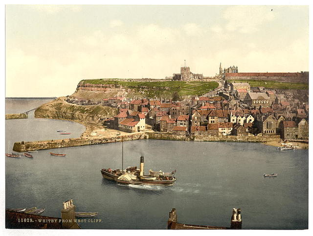[Whitby, from West Cliff, Yorkshire, England]