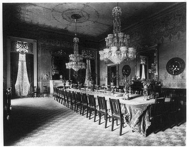 White House, State Dining Room