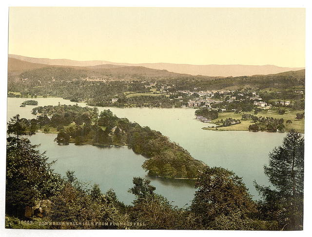 [Windermere and Bowness, Lake District, England]