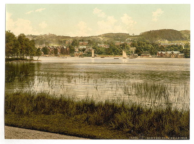 [Windermere, Bowness, from Bellisle, Lake District, England]