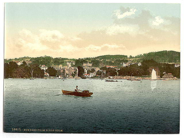 [Windermere, Bowness, from Birch Holm, Lake District, England]
