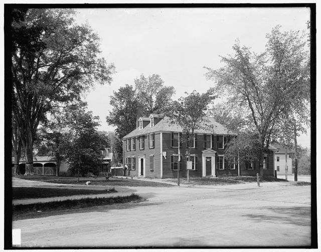 [Wright Tavern, Concord, Massachusetts]