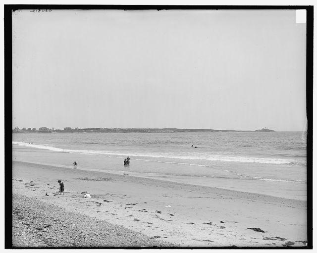 [York County, Me., Cape Neddick from Long Beach]