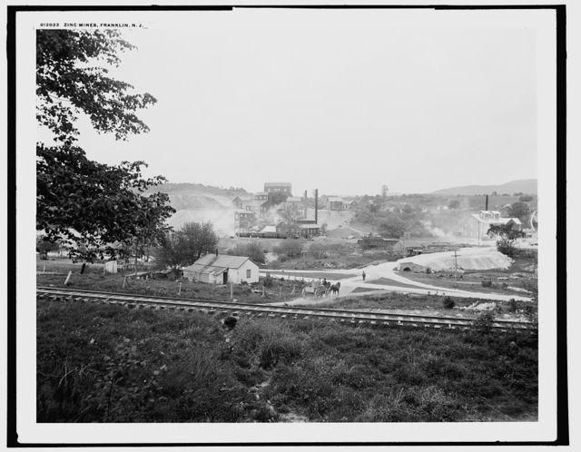 Zinc mines, Franklin, N.J.