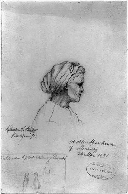 Adéle Moscheuer Marier, 20 Mar., 1891