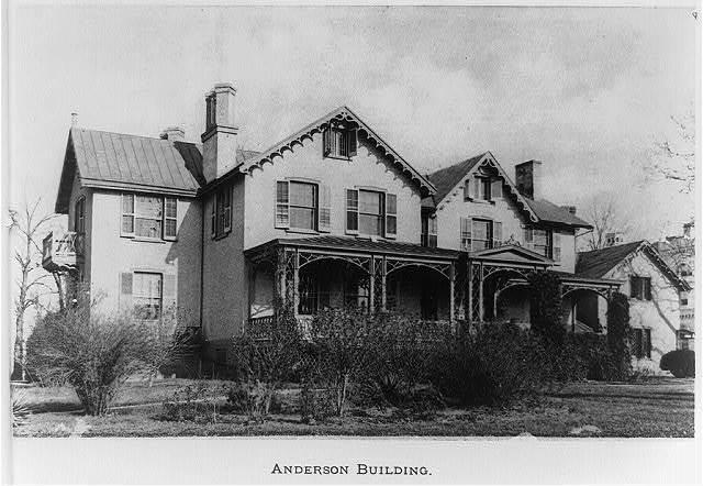 Anderson Building, U.S. Soldiers' Home, Washington, D.C.