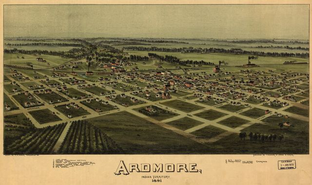 Ardmore, Indian Territory, 1891.