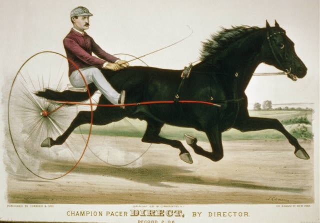 Champion pacer direct, by director: Record 2:06