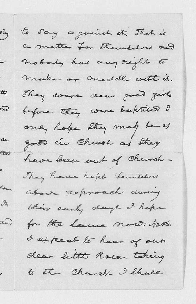 Correspondence, 1891-1892
