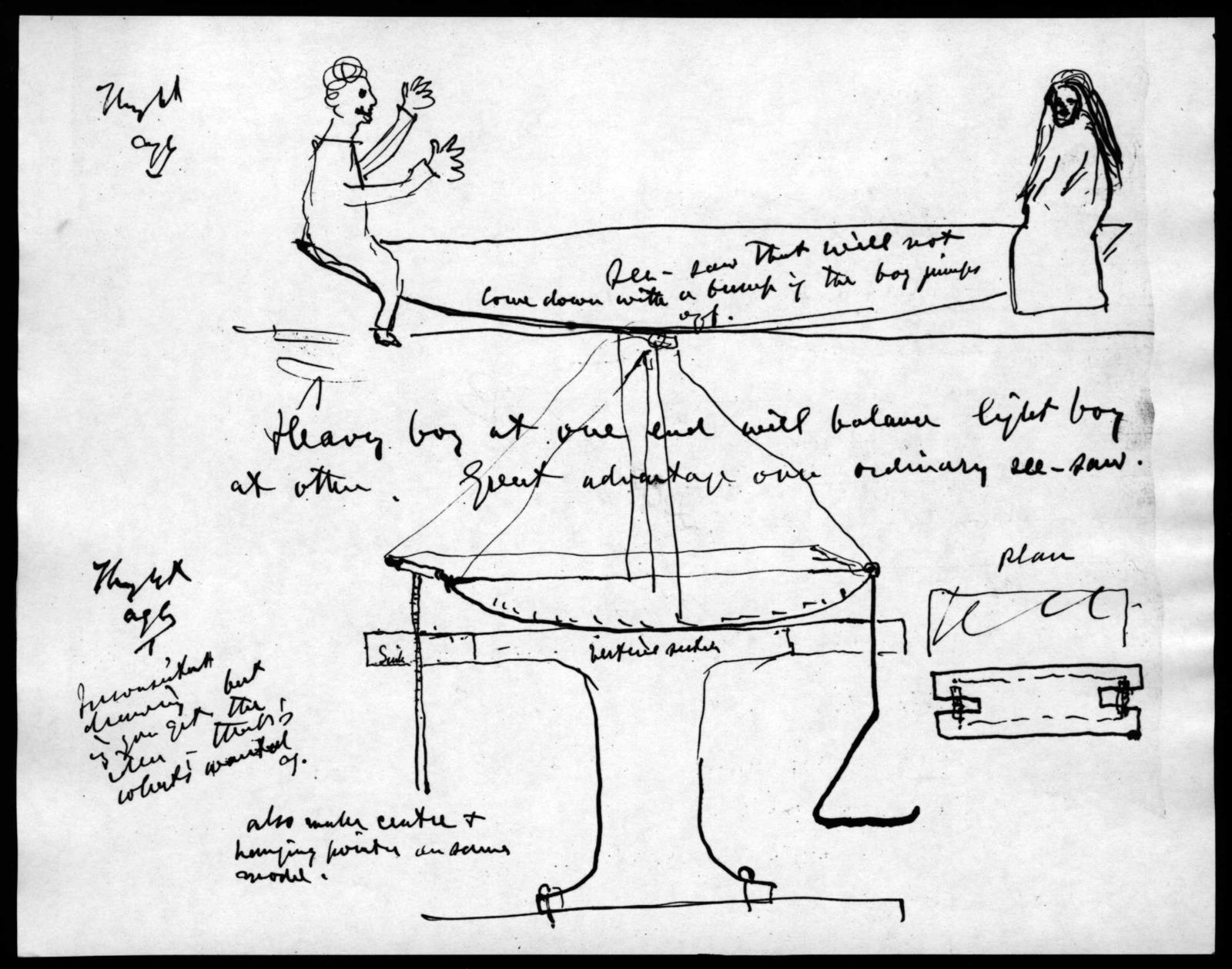 Drawings by Alexander Graham Bell?, from December 29, 1891 to