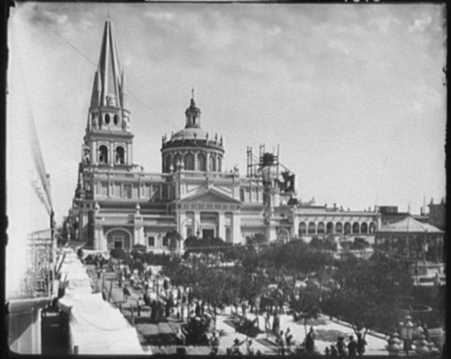 El catedral de Guadalajara, Mexico