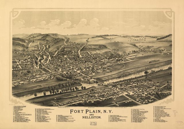 Fort Plain, N.Y. and Nelliston.